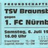 Der Club in Braunsbach 1996